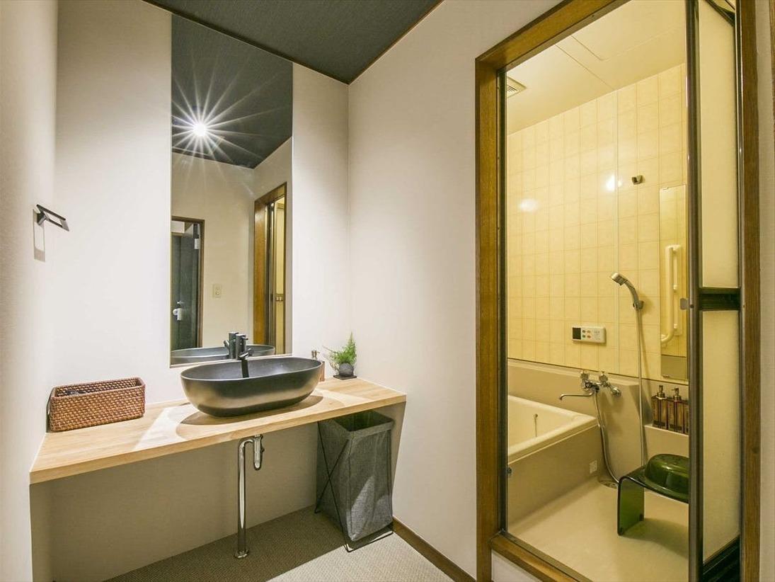 【庭付き一軒家】バスルーム