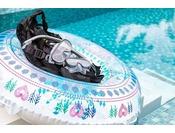 【レンタル】シュノーケルセットや浮き輪の貸し出しもございます。