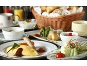 【朝食】洋食一例・【Breakfast】 Western style ( image )