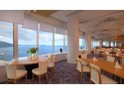 タワー館18階スカイレストラン「TOP・OF・ATAMI」は熱海随一のロケーション!