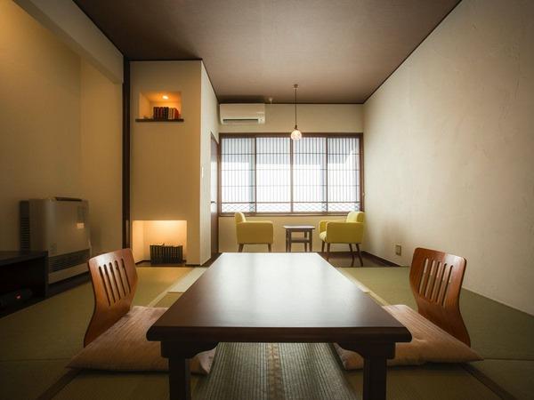 コンパクトなデザインのお部屋。