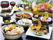 基本のあんこう鍋のプランに、北茨城の郷土料理「あん肝」「あんこう友酢」「あんこうの唐揚げ」が付いたプランです。あんこうの全てを召し上がりたい方にお薦めです。