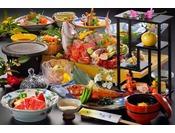 せっかく泊まりにいくのなら最高の食事をしたいというお客様にピッタリの料理グレードUPプラン