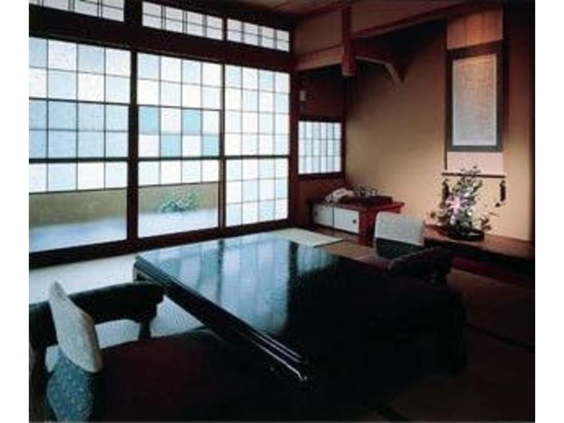 特別室心から寛げるすべてに上質を備えた、空間のぜいたくを味わう。