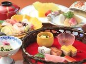四季折々の味を楽しむ~和会席料理(イメージ)