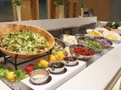 【朝食】サラダコーナー