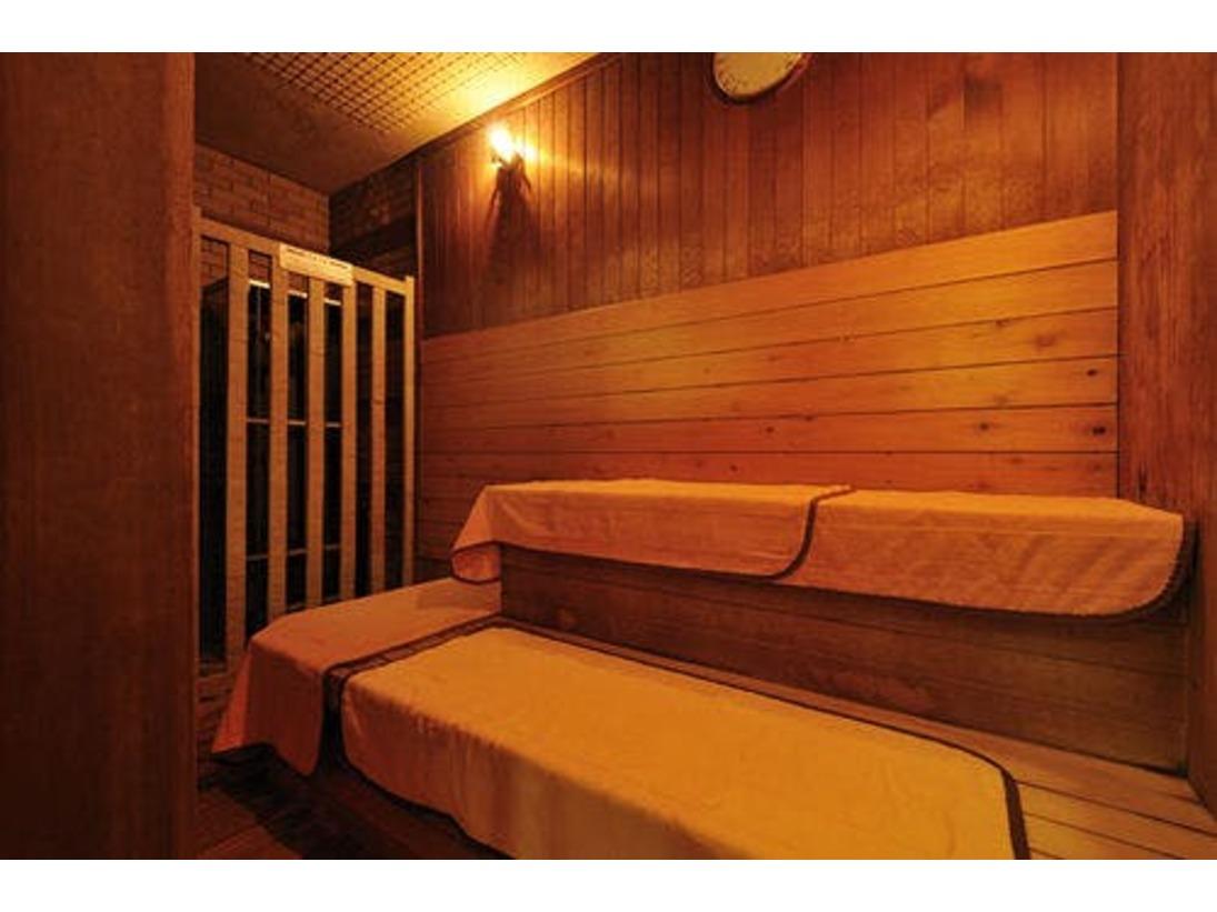 大浴場のサウナルーム