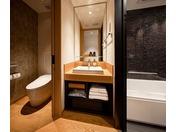 スーペリアツインのバスルーム