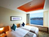 スイート クラシッククルーズ 107平米ベッドルーム最大4名さままでご利用いただけます。