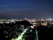 ホテルからの夜景(一例)
