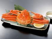 ドドーンっと、高級食材『蟹一杯』付き!