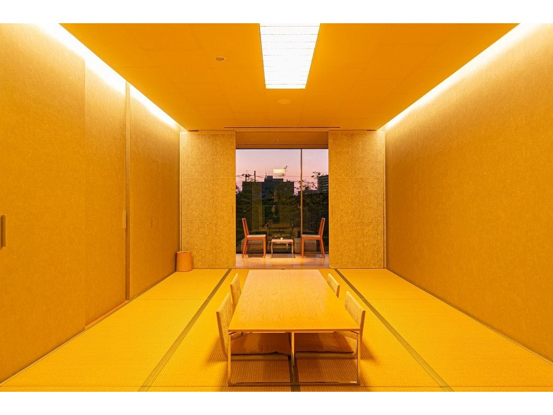 【ジャパニーズスタイルルーム】和室。40平米。全室禁煙。(テラスにて喫煙可)