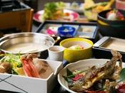 【渓流魚×豆乳海鮮しゃぶしゃぶ】山海の恵みを味わう豆富懐石♪新鮮な渓流魚と沼津直送の魚介を味わう