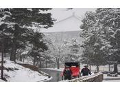 雪景色の東大寺