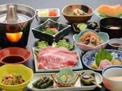 米沢の郷土の味「鯉」もお付け致します