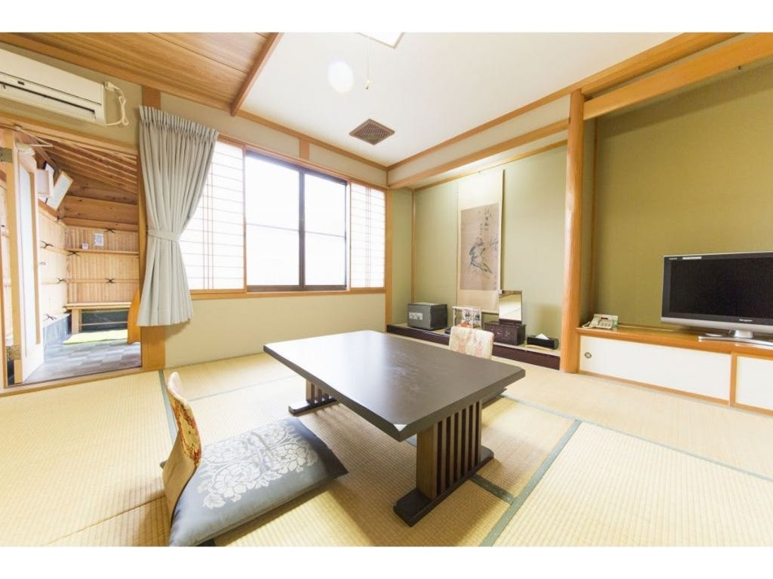 和室・露天風呂付客室・一例