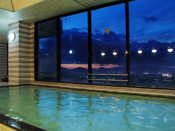 大浴場からの夜景