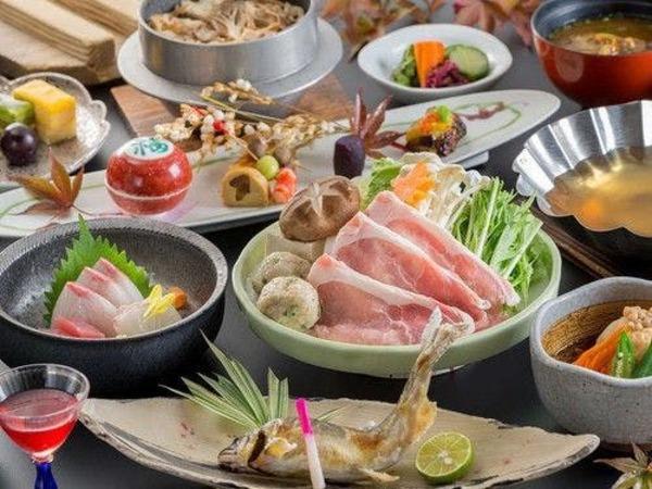 旬菜旬魚を使用した四季替わり会席