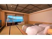 【エクセレンシィルーム(一例)】今までの「ゆとり」と「くつろぎ」はそのままに上層階確約のハイグレードな和洋室です。