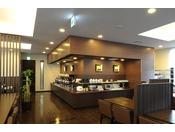 朝食会場 レストラン「花茶屋」