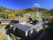秋色に染まる玉川温泉