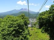 空の旅へ出かけよう☆夏山リフト営業!エンジョイチケットもご利用いただけます。
