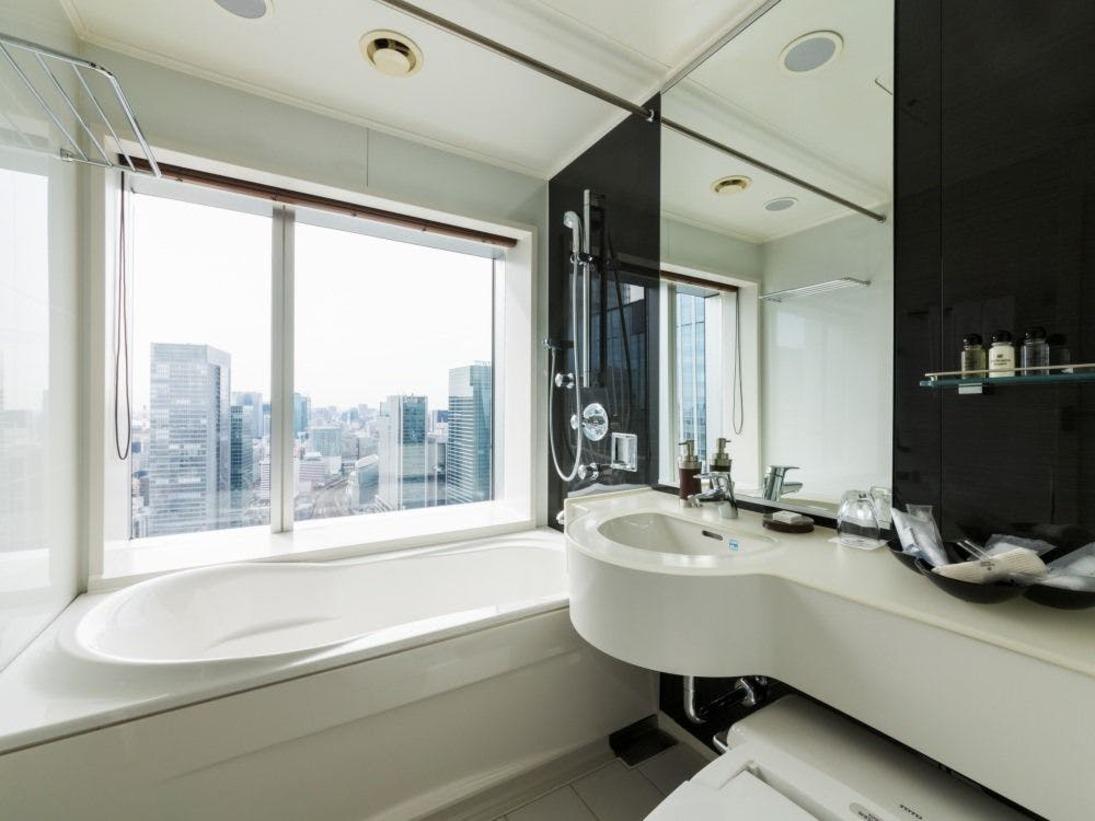 東京駅側のお部屋 浴室イメージ