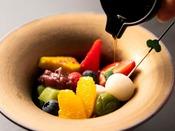 【湯相七席/七席の膳 2020春のお料理一例】美味しさの余韻はデザートにも。