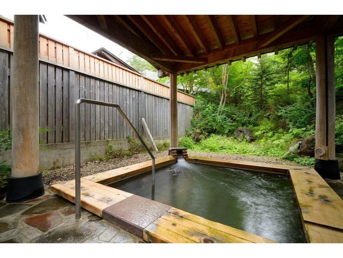 【露天風呂】大浴場露天風呂☆とろ~ッとした感触のお湯にビックリ!