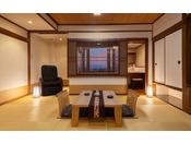 生駒山側展望風呂和室