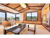 東大寺・若草山の大パノラマが広がる4階特別室