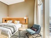 [ミュッセツイン]最上階  23平米 ベッド幅120センチ×2台