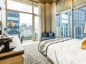 [ミュッセバルコニーダブル]最上階  23.7平米 ベッド幅180センチ