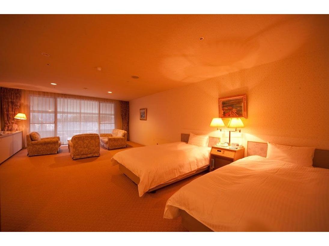 DXツイン ベッドのお写真です