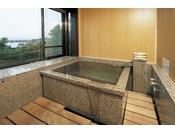 お部屋のお風呂は源泉100%の温泉付です