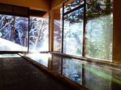 冬の大浴場(男性用)