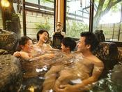 【貸切風呂イメージ】家族水いらずの温泉タイム♪ご希望の場合はチェックイン時にご予約くださいませ