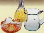 月夜野びーどろパーク・手吹きガラス製作・作品のイメージです。