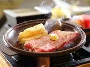 【別注料理】「牛ステーキ」じゅわっと美味しい牛と豆腐懐石の饗宴。