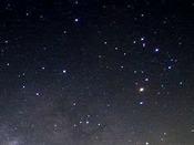 空気の澄んだ夜の満点の星空は感動物!!
