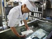 【豆富工場】厳選した上質の国産大豆と三国山系の清らかな水でつくりあげる、職人こだわりの豆富