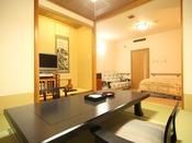 バリアフリールームの和室