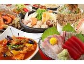 北の新鮮な旬の食材を使用しお酒に合う一品料理の他、お食事メニューなども数多くご用意しております。