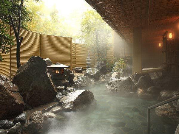 岩大露天風呂「六花仙」