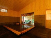 【森乃湯】離れの湯屋「森乃湯」は源泉100%かけ流しでございます。