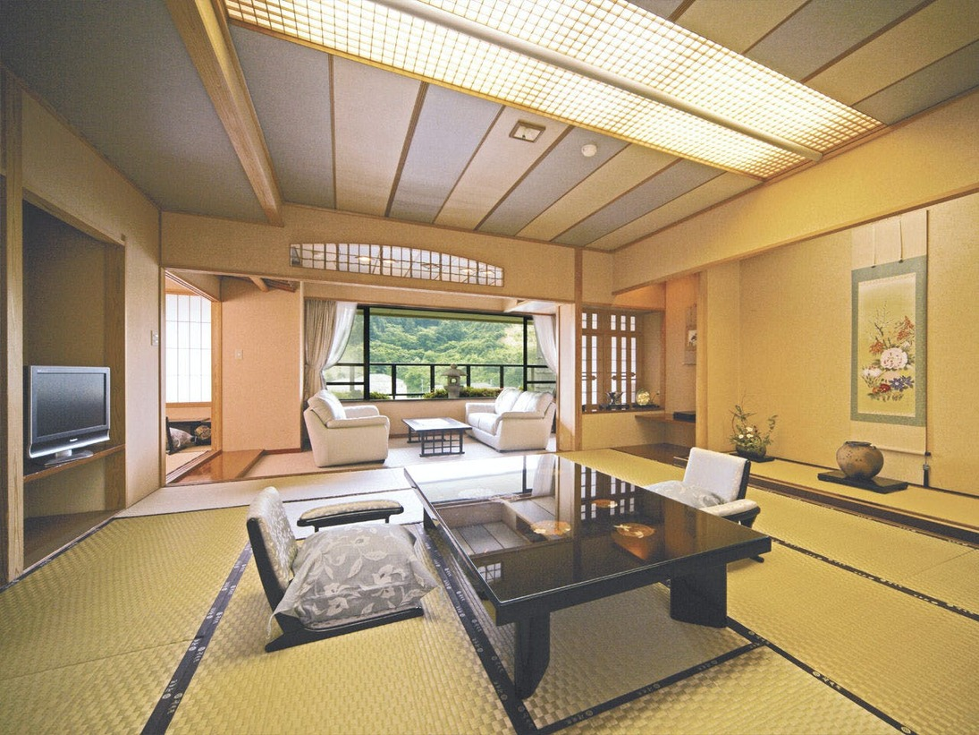 【スイートルーム】特別室(158平米)【展望露天風呂付】