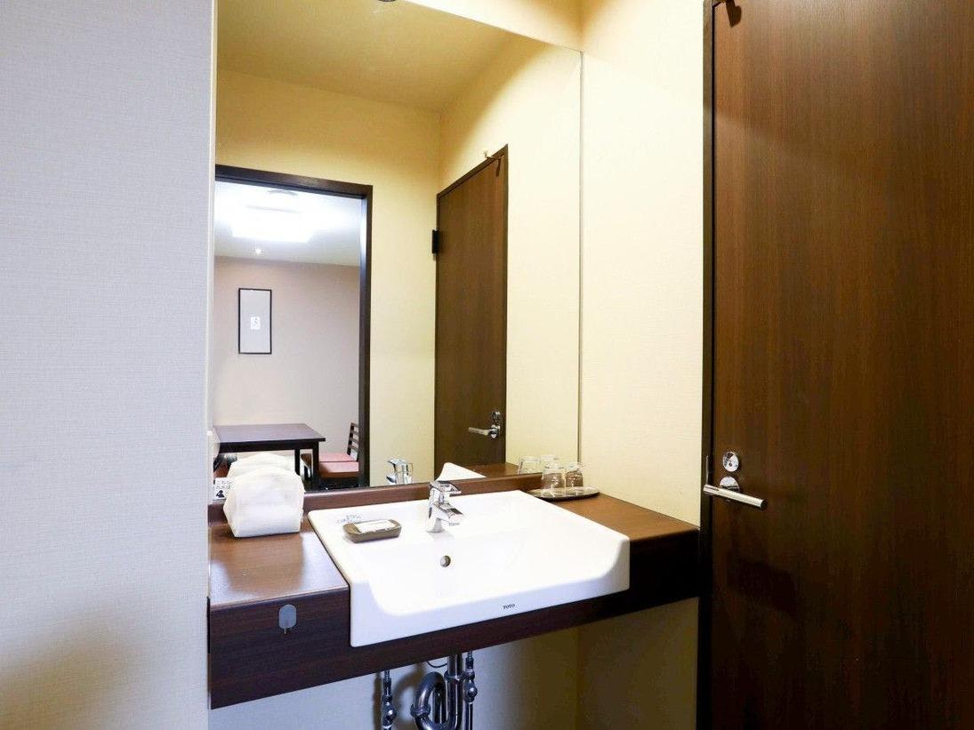 和室8~10畳 禁煙室 洗面場