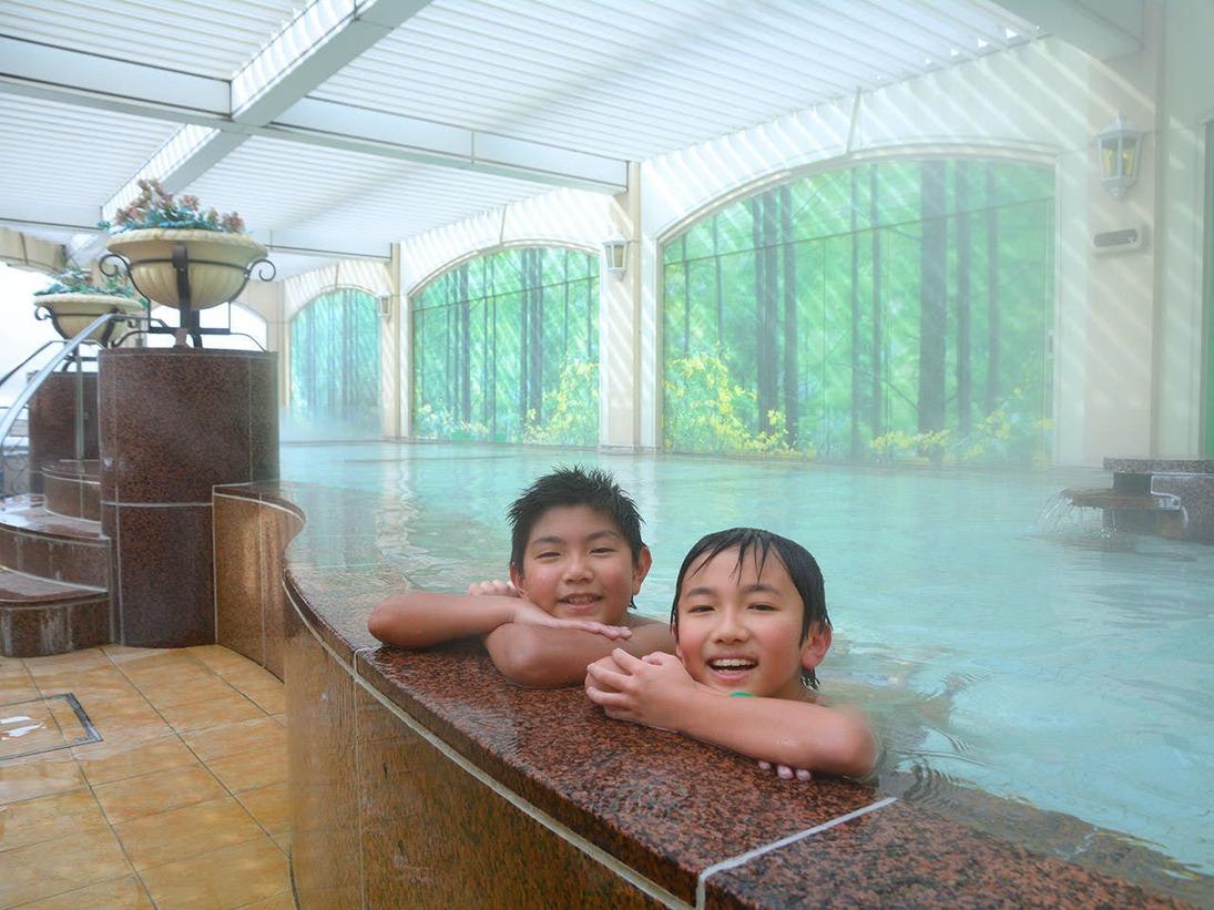 温泉展望露天風呂の例
