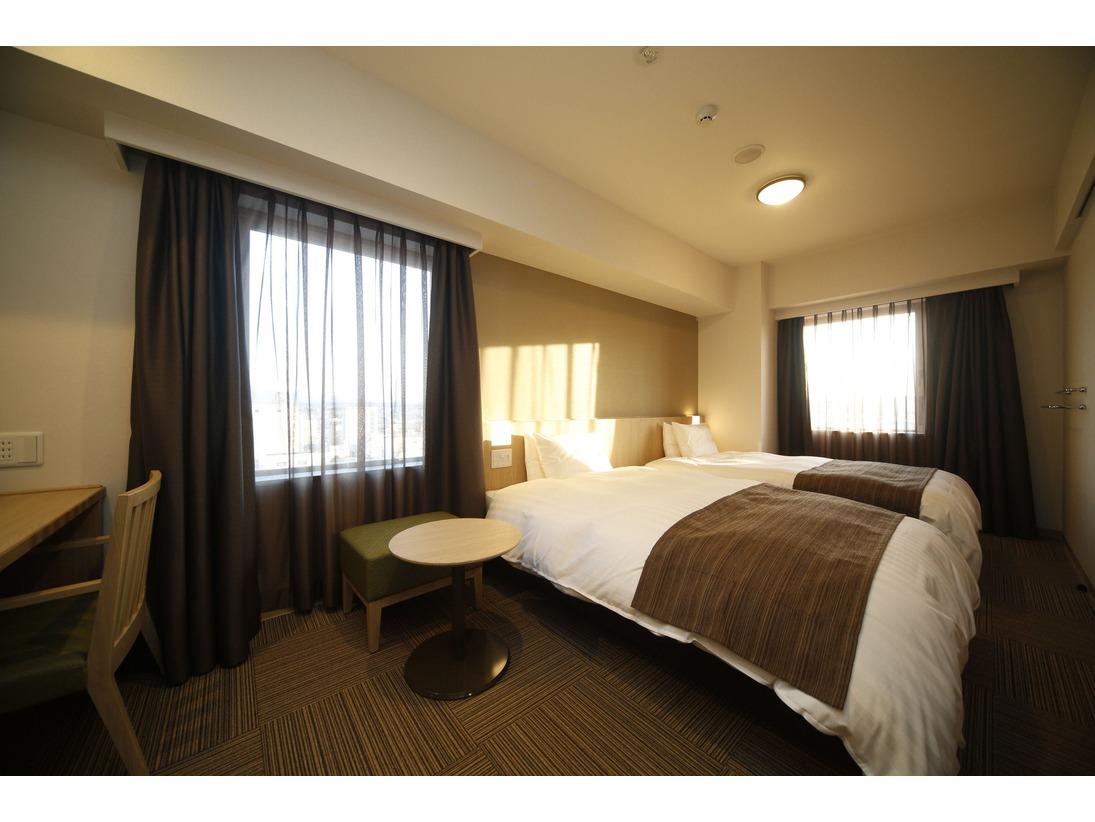 快適な滞在を楽しめる全室Wi-Fi完備の快適空間シモンズ社製ベッド(一部エアウィーヴ)で快眠をお約束。全室Wi-Fi利用可能でビジネスでのご利用も安心です。