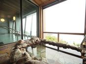 津軽海峡を一望できる露天風呂(※男女)